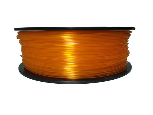 China Good Toughness PLA 3D Printer Filament 1.75MM 3MM For Mechanical Parts supplier