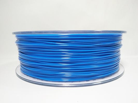 China Orange / Blue 1kg PETG 3d Printer Filament 3mm 1.75mm For Industrial Model supplier
