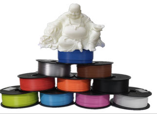 China Degradable 1.75 MM PLA Filament 1kg PLA 3D Printer Filament 3D supplier