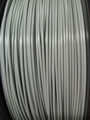 China Grey Color PLA 3D Printer Filament 1.75mm 2.85mm 2.2 Lbs 1 Kg With Good Toughness supplier