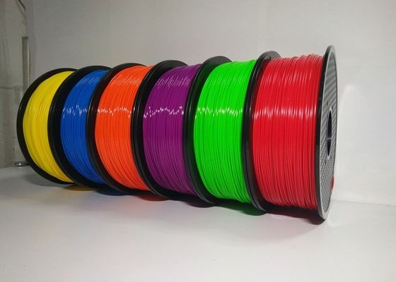 China 1.75mm 1KG ABS 3D Printer Filament Spool Master Filament With Good Elasticity supplier