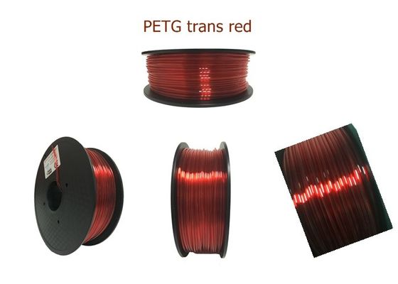 China 3D Printer 1.75mm PETG Plastic Filament 1 Kg For 3D Printing , Non Toxic supplier