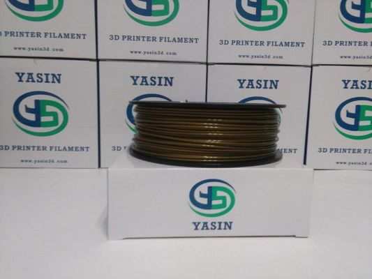 China Easy Print PLA Bronze Metal Filled 3D Printer Filament1kg Net Weight Spool For 3d Pen distributor