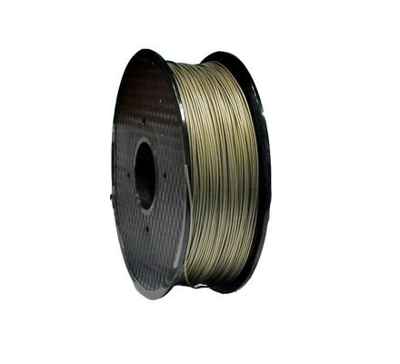 China 1.75mm 2.85mm 3mm Bronze 3D Printer Filament , FDM 3d Printer PLA Bronze Filament distributor