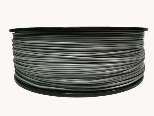 China Outdoor Applications ASA 3D Printer Filament Weather Resistance Grey / Black distributor