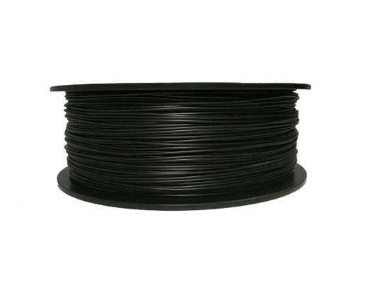China 1KG / Spool Black Electrically Conductive Filament 3.0MM 1.75 mm ABS Filament distributor