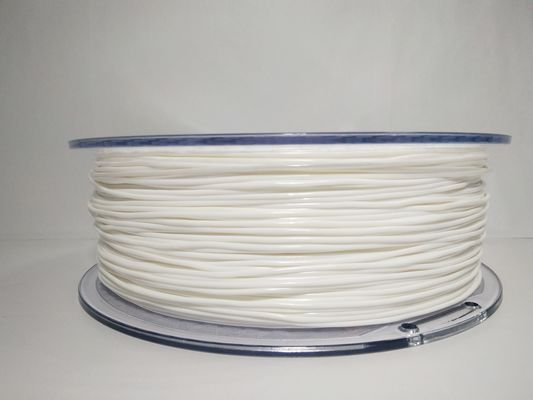 China White color TPU Flexible 3D Printer Filament 331 Meters 1kg For 3d Printer distributor