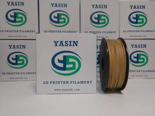 China 1kg 1.75mm 3mm 3D Printer Wood Filament , Light Weight 3mm Wood Filament distributor