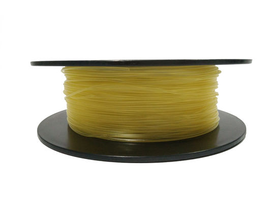 China 1.75MM 2.85MM 3MM TPU 3D Printer Filament Color Customized Oil / Grease Resistant distributor