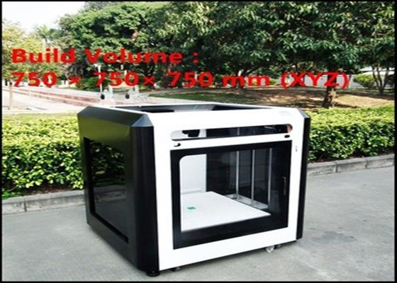 China High Precision Printing For FDM 3D Printing Machine Largest Size 750 * 600*750 mm distributor