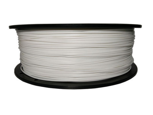 China Industrial White ABS 3D Printer Filament 1.75mm 3.0mm CE SGS Approved distributor