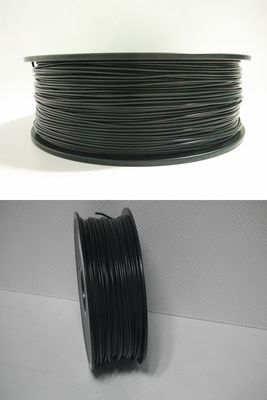 China ABS Conductive 3D Printer Filament 3mm /1.75mm Black 1KG / Roll For FDM 3D Printer distributor