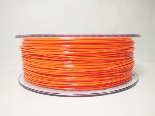 China 1.75mm Flexible TPU 3D Printing Filament , Dimensional Accuracy +/- 0.05 mm 1KG Spool distributor