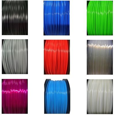 China Multi Color 1kg 1.75mm Diameter TPE TPU 3D Printer Filament Abrasion Resistant distributor