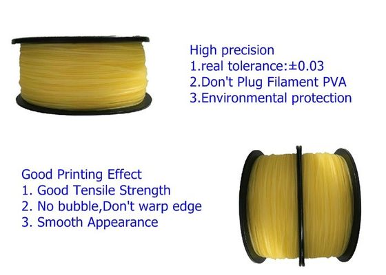 China Vacuum Package Nontoxic Flexible 1.75mm Pva Plastic Rods 3D Filament Rubber distributor