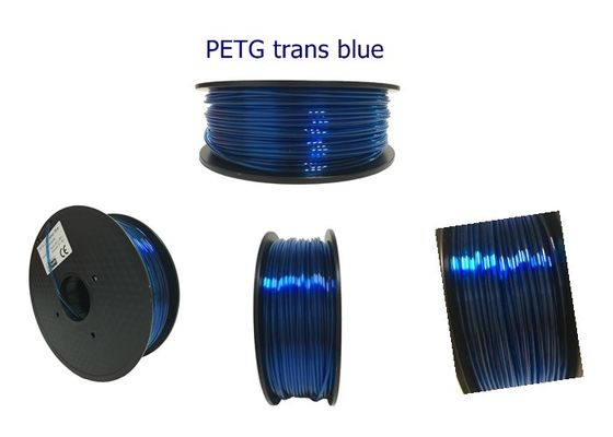 China 1.75mm 3.0mm PETG 3D Printer Filament , 3d Printing Materials 1kg / Spool distributor