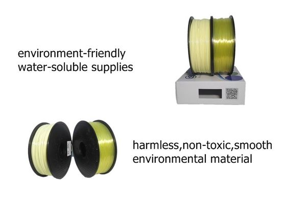 China Plastic Rod 3d Printer ABS PLA PVA 3D Printer Filament With ROHS SGS Certification distributor