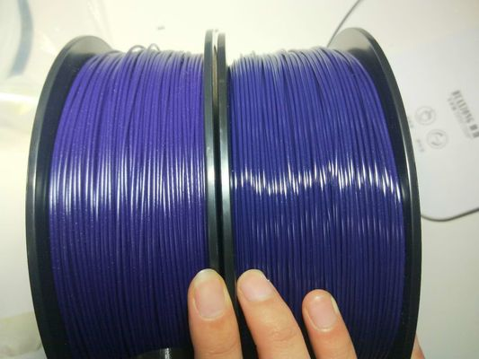 China Alkali Resistance 2.85mm PETG 3D Printer Filament Carbon Fiber 1kg Per Reels distributor