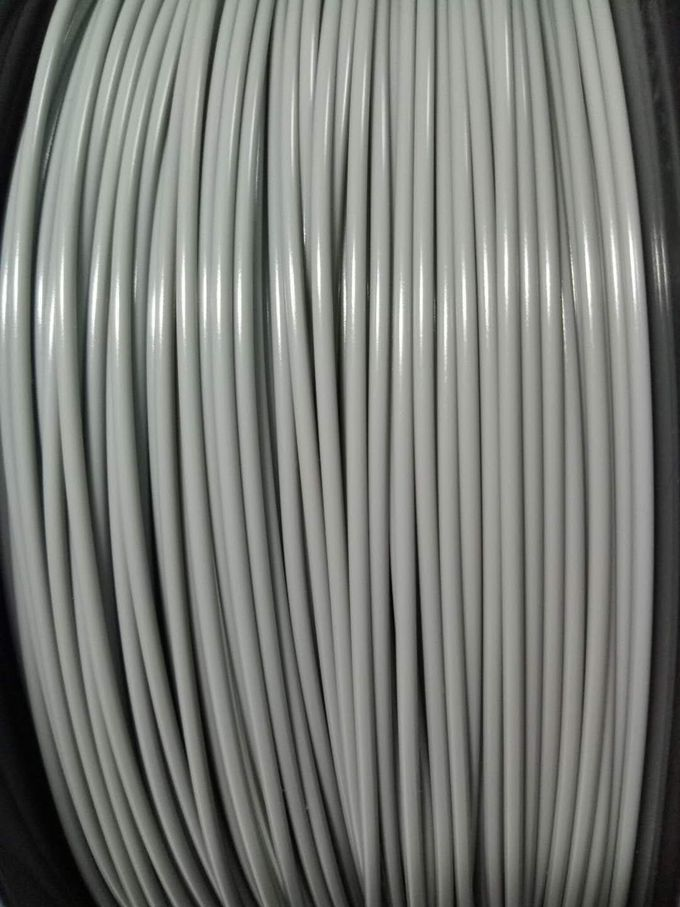 Grey Color PLA 3D Printer Filament 1.75mm 2.85mm 2.2 Lbs 1 Kg With Good Toughness